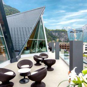 Aqua Dome Terrasse