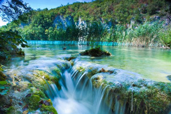 Kroatien Plitvice Wasserfall