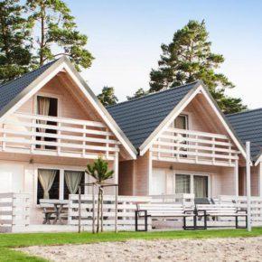 Neueröffnung an der polnischen Ostsee: 3 Tage übers Wochenende in Luxus-Holzhütte & Gutschein ab 34€