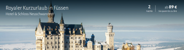 3 Tage Schloss Neuschwanstein