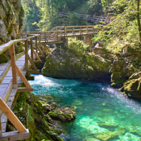 Wochenende in Bled: 3 Tage in der Nähe der Vintgar-Klamm um 34€
