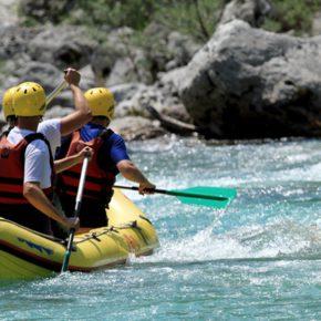 Wochenende in Bayern: Rafting Tour auf der Isar mit Ausrüstung nur 31€