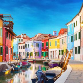 Wochenende in Italien: 3 Tage auf der Insel Burano im TOP Künstler-Ferienhaus nur 82€