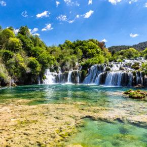 Langes Wochenende im Nationalpark Krka: 4 Tage Kroatien im Sommer mit Apartment nur 18€