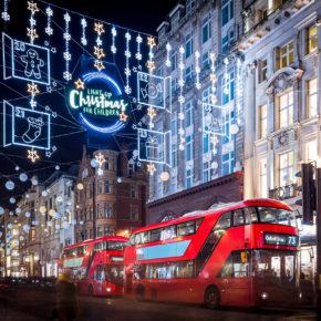 Christmas Shopping in London: 3 Tage übers WE im zentralen Hotel mit Flug nur 75€