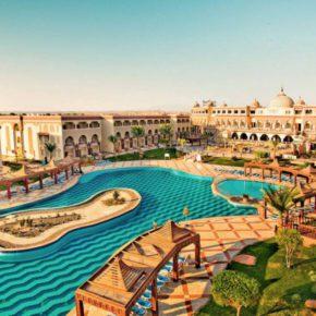 Sommer Luxusurlaub: 7 Tage Hurghada im TOP 5* All Inclusive Hotel mit Flug & Transfer um 512€