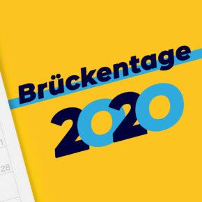Brückentage 2020: So nutzt Ihr die Zwickeltage am sinnvollsten