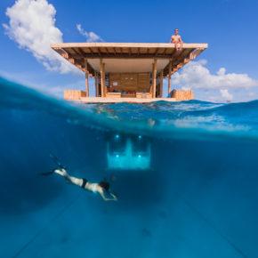 The Manta Resort: In dieser Unterwassersuite schlaft Ihr neben Korallen & Co