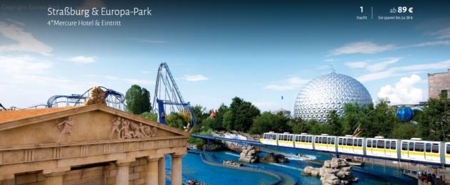 2 Tage Europa Park