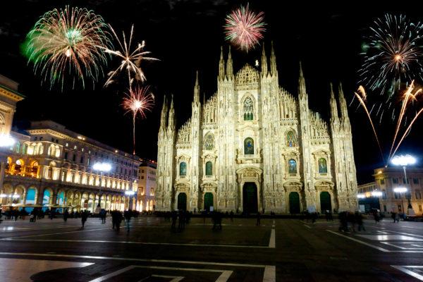 Italien Mailand Silvester