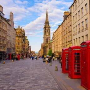 Kurztrip nach Edinburgh: 3 Tage Schottland mit Unterkunft & Flug nur 55€