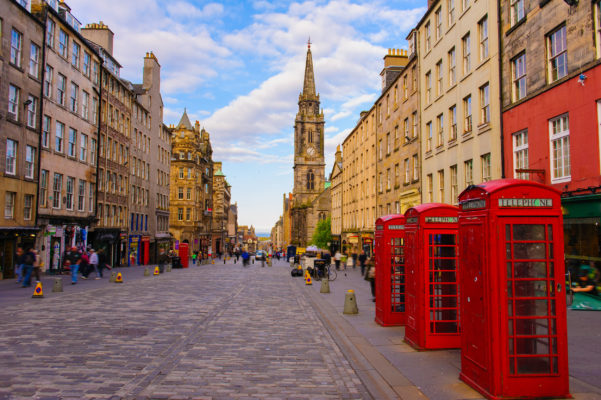 Schottland Edinburgh Street View