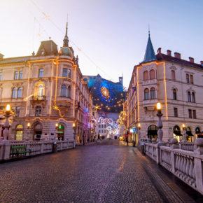 Kurztrip im Advent: 2 Tage Ljubljana mit TOP Unterkunft & Frühstück nur 15€