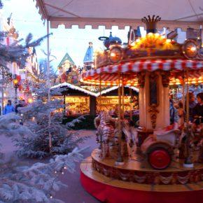 Winter im Europa-Park: Tagesticket & 2 Tage im 3* Hotel im Elsass mit Frühstück & Sauna ab 69€