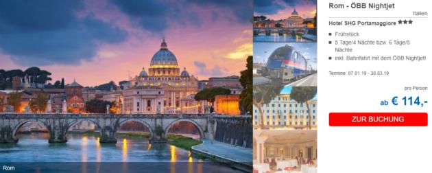 5 Tage Rom