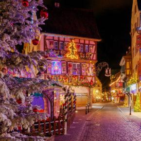 Christkindlmarkt im Elsass: 3 Tage Colmar mit Unterkunft & Flug für 111€