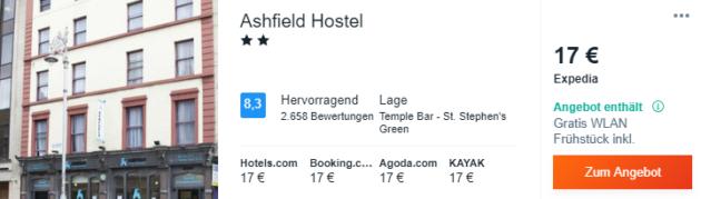 4 Tage Dublin Hotel