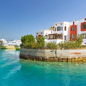 Neueröffnung Ägypten: 7 Tage im TOP 4* Hotel in Strandnähe mit All Inclusive, Flug & Transfer für 376€