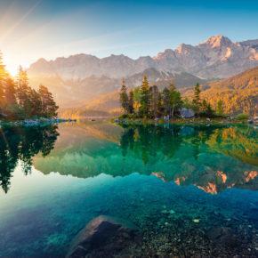 Kurzurlaub: 2 Tage Bayern nahe Eibsee mit tollem TOP 4* Romantik-Hotel inkl. Wellness für 66€