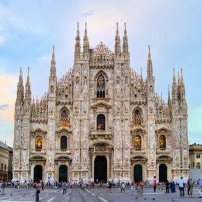 Kurztrip nach Mailand: 3 Tage mit Unterkunft, Halbpension & Flug nur 67€