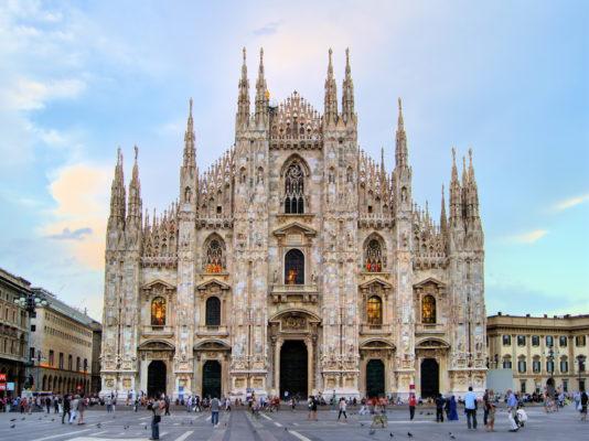 Italien Mailand Dom Ansicht