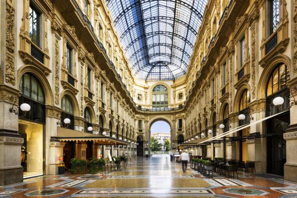 Italien Mailand Galeria Vittorio