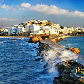 Griechenland Naxos Stadt