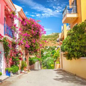 Griechenland Kefalonia Straße