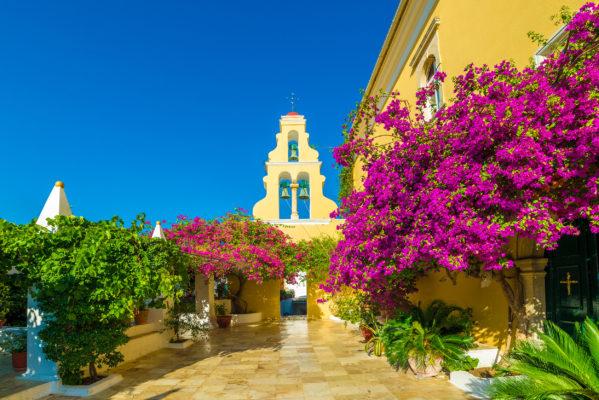 Griechenland Korfu Paleokastritsa
