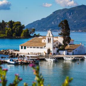 Griechenland Korfu Vlacherna