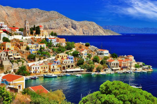 Griechenland Rhodos Symi