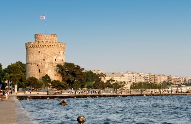 Griechenland Thessaloniki Weißer Turm
