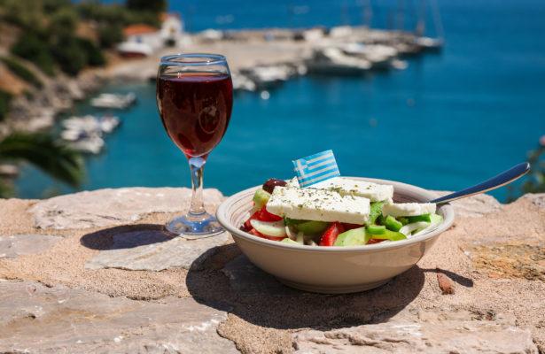 Griechenland typisches Essen