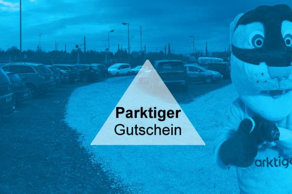 Parktiger Gutschein