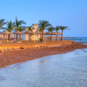 Als Frühbucher nach Ägypten: 7 Tage Hurghada im 5* Hotel mit All Inclusive, Flug & Transfer um 430€