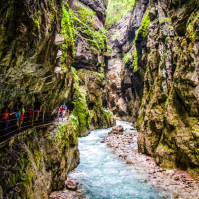 Kurztrip nach Deutschland: 2 Tage am Wochenende nahe der Partnachklamm mit Unterkunft nur 37€