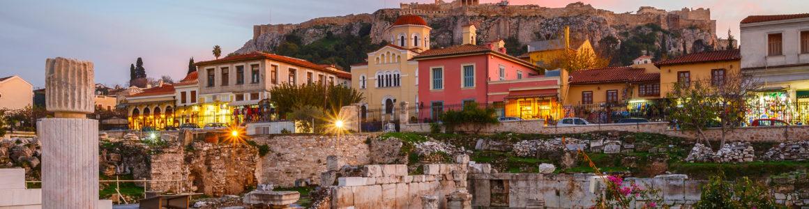 Athen: 4 Tage übers WE mit zentralem 3* Hotel & Flug nur 94€