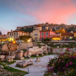 Übers Wochenende in Athen: 4 Tage mit zentralem 3* Hotel & Flug nur 94€