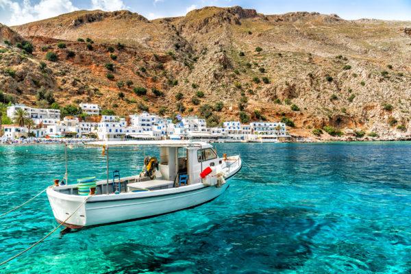 Griechenland Kreta Loutro
