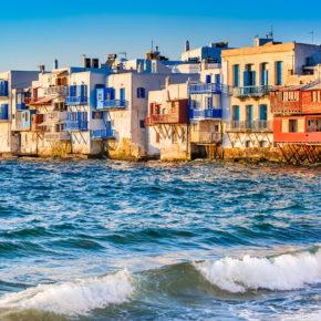 Mykonos: 8 Tage mit Villa, Pool & Flug nur 171€