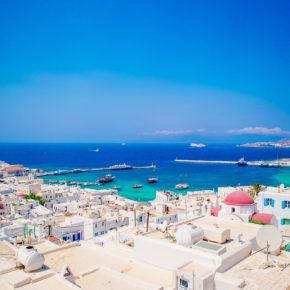 Griechenland im Sommer: Flüge nach Mykonos nur 14€