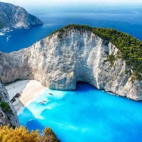 Griechisches Inselparadies im Sommer: 7 Tage Zakynthos im 3.5* Strandhotel mit Halbpension, Flug & Transfer nur 380€