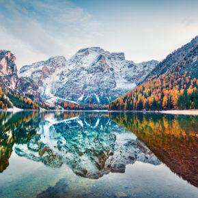 Pragser Wildsee: 3 Tage Erholung im 3* Hotel mit Halbpension für 147 €