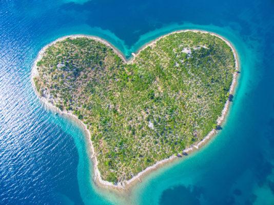 Kroatien Galesnjak Insel