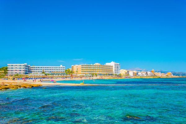 Mallorca Can Picafort Promenade