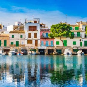 Mallorca Porto Colom Hafen