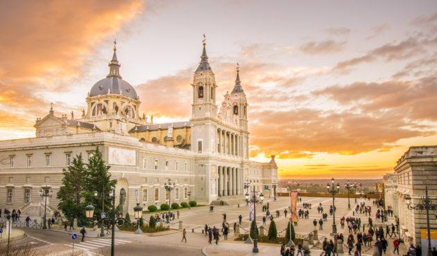 Spanien Madrid Almudena Kathedrale