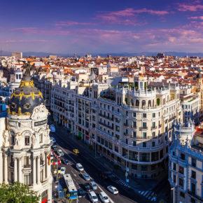 Madrid Kurztrip: 3 Tage in guter Unterkunft inkl. Frühstück & Flug nur 94€