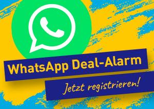 WhatsApp Deal Alarm