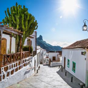 Spanien Gran Canaria Tejeda-Bergdorf